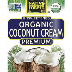 Organic Can of coconut cram