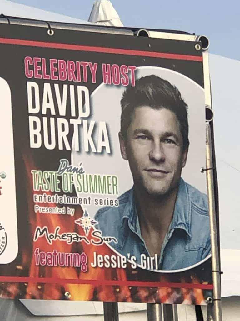David Burtka Sign