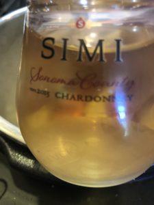Simi White Wine in a glass