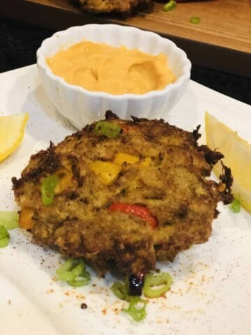 Air Fryer Maryland Crab Cakes