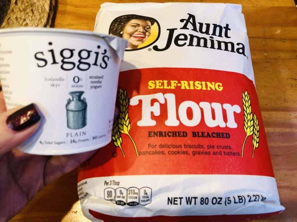 Greek Yogurt and Self Rising Flour