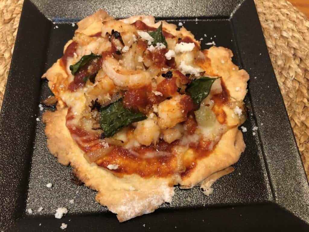 Homemade Shrimp Pizza
