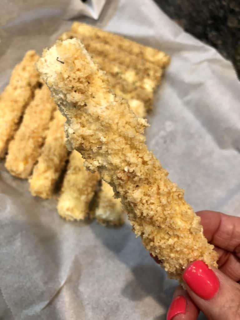 Frozen Mozzarella Stick