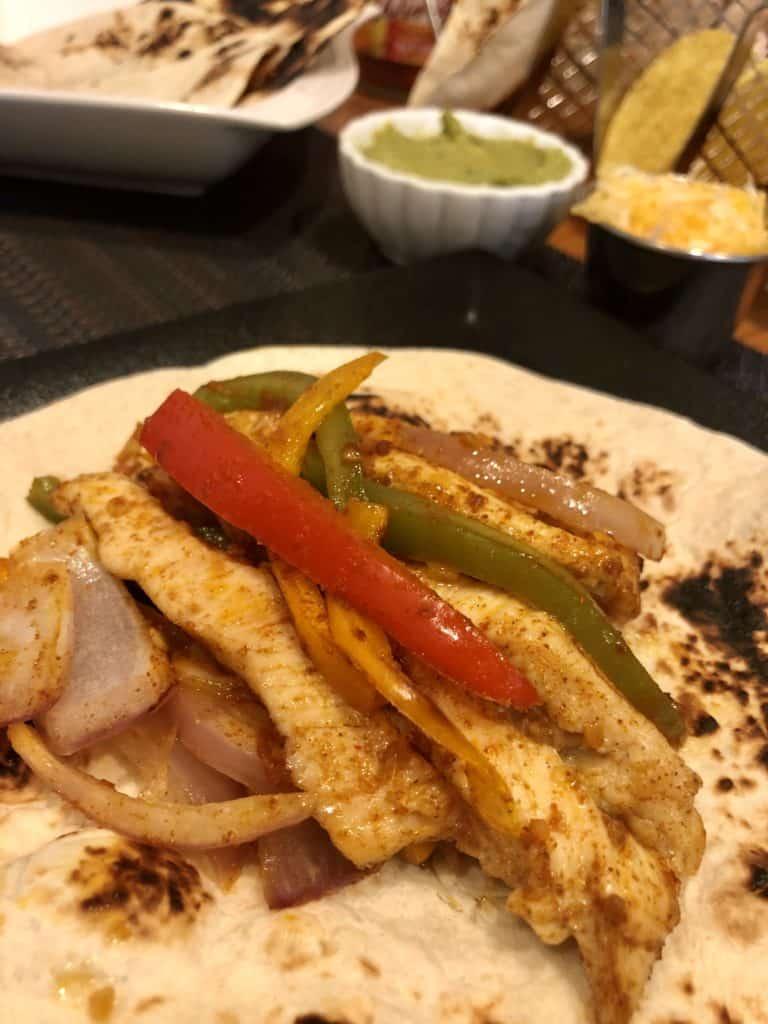 Spicy Taco Sheet Pan Chicken