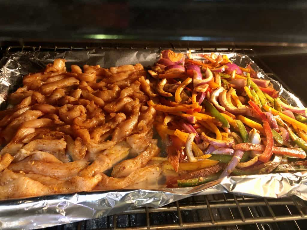 Chicken and Veggies in the Oven