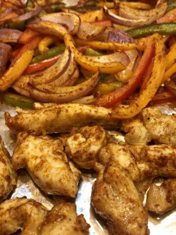 Skinny Taco Sheetpan Chicken