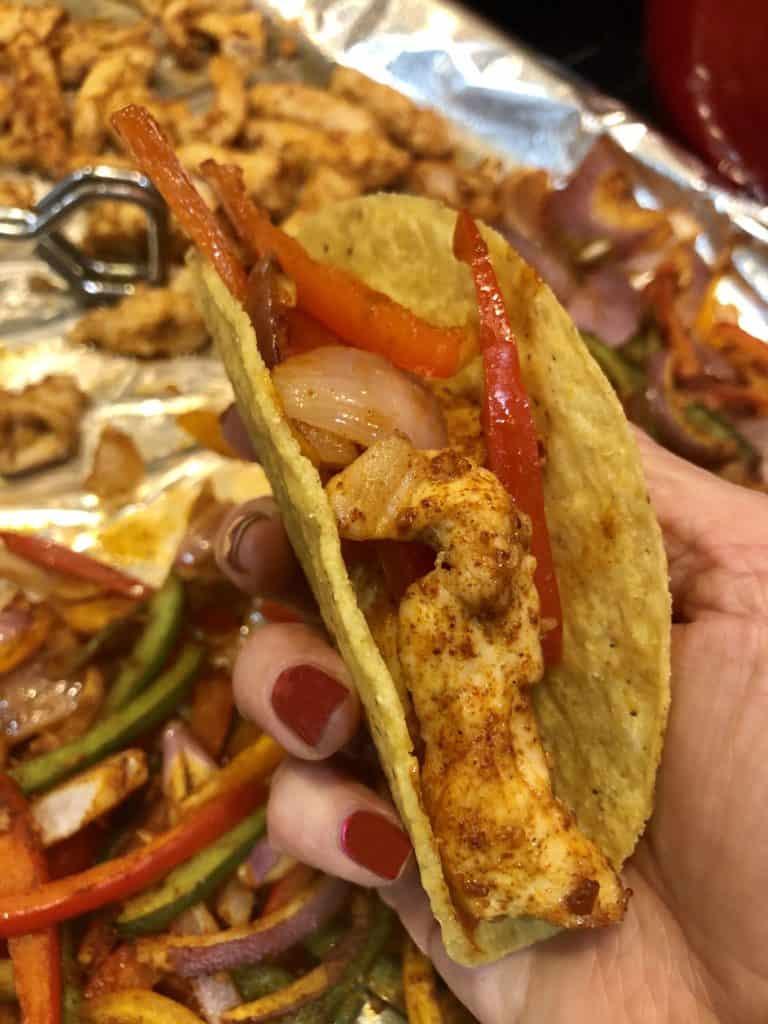 Skinny Chicken Taco