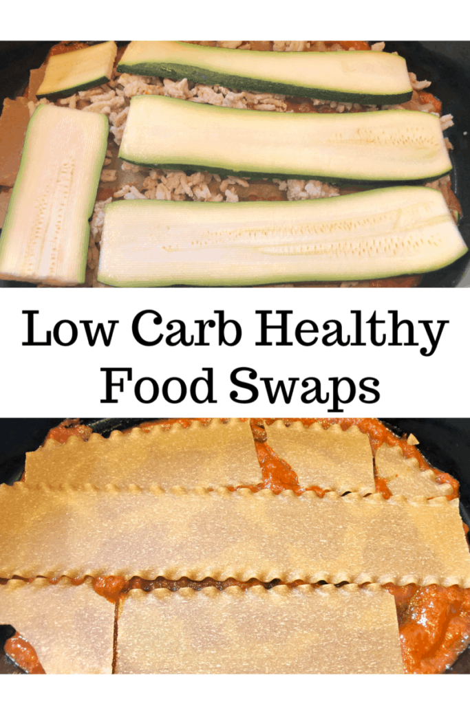 Low Carb Healthy Food Swaps
