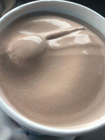 Wendys Chocolate Frosty