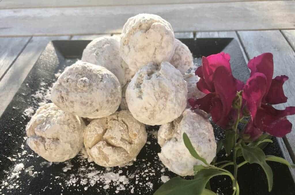 Powdered Air Fryer Beignets