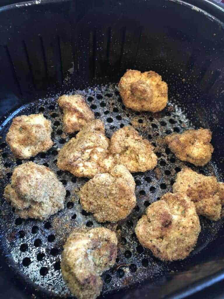 Air Fried Cauliflower