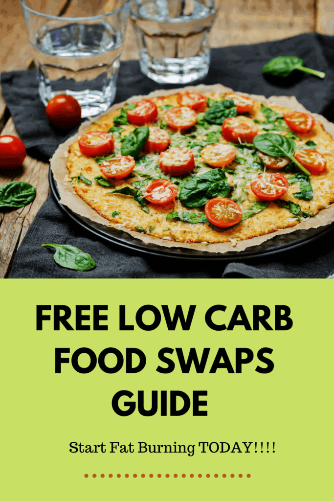 Free Low Carb Food Swaps Guide