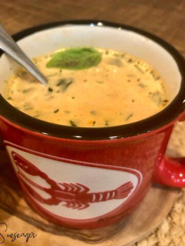 Low Carb Creamy Tomato Soup
