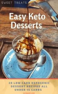 Easy Keto Dessert Cookbook