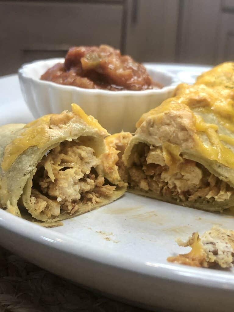 Easy Keto Enchilada Bake