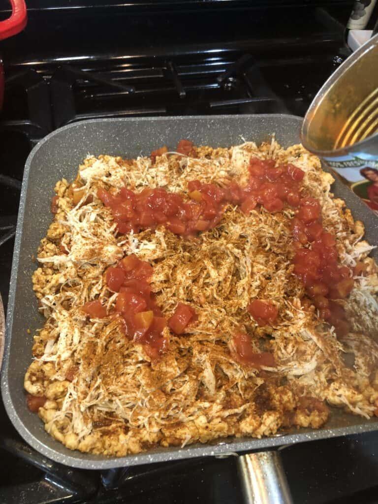 Enchilada filling