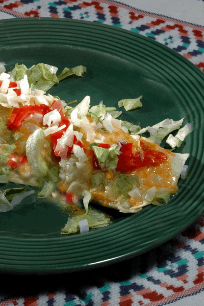 Vegetable Enchilada