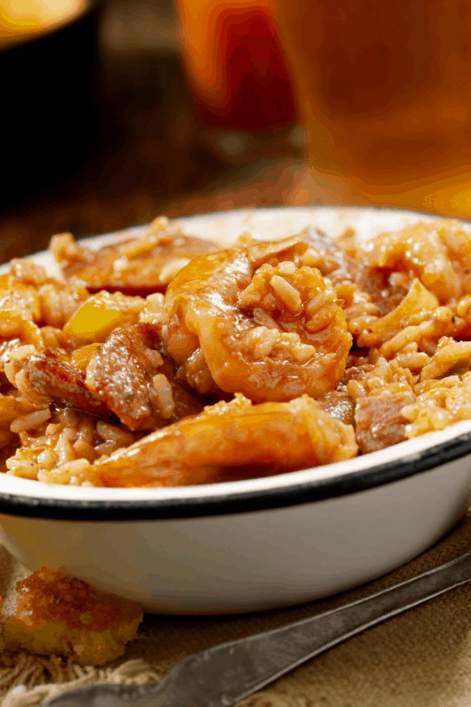 Easy Crockpot Shrimp Jambalaya