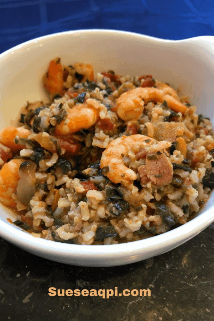 Shrimp and Rice Jambalaya