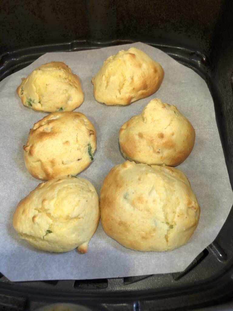 Baked Hushpuppies