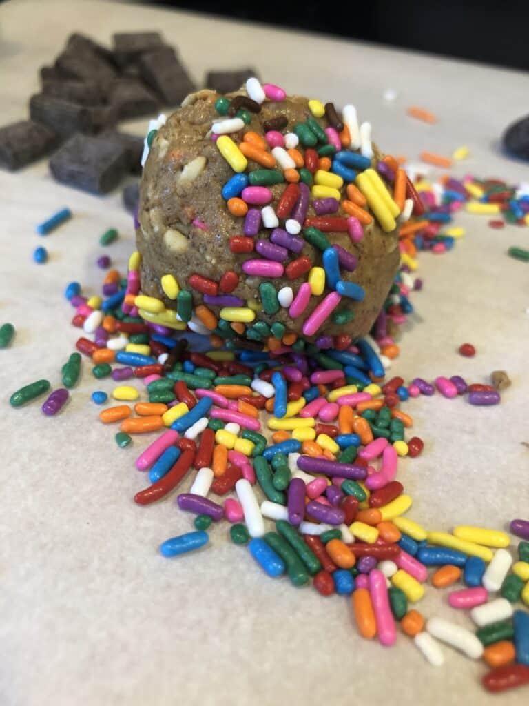 Sprinkled Protein Balls