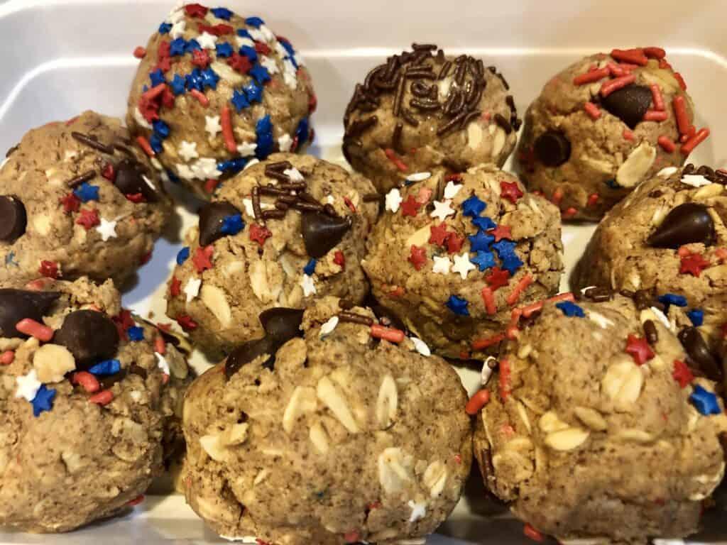 Homemade protein balls