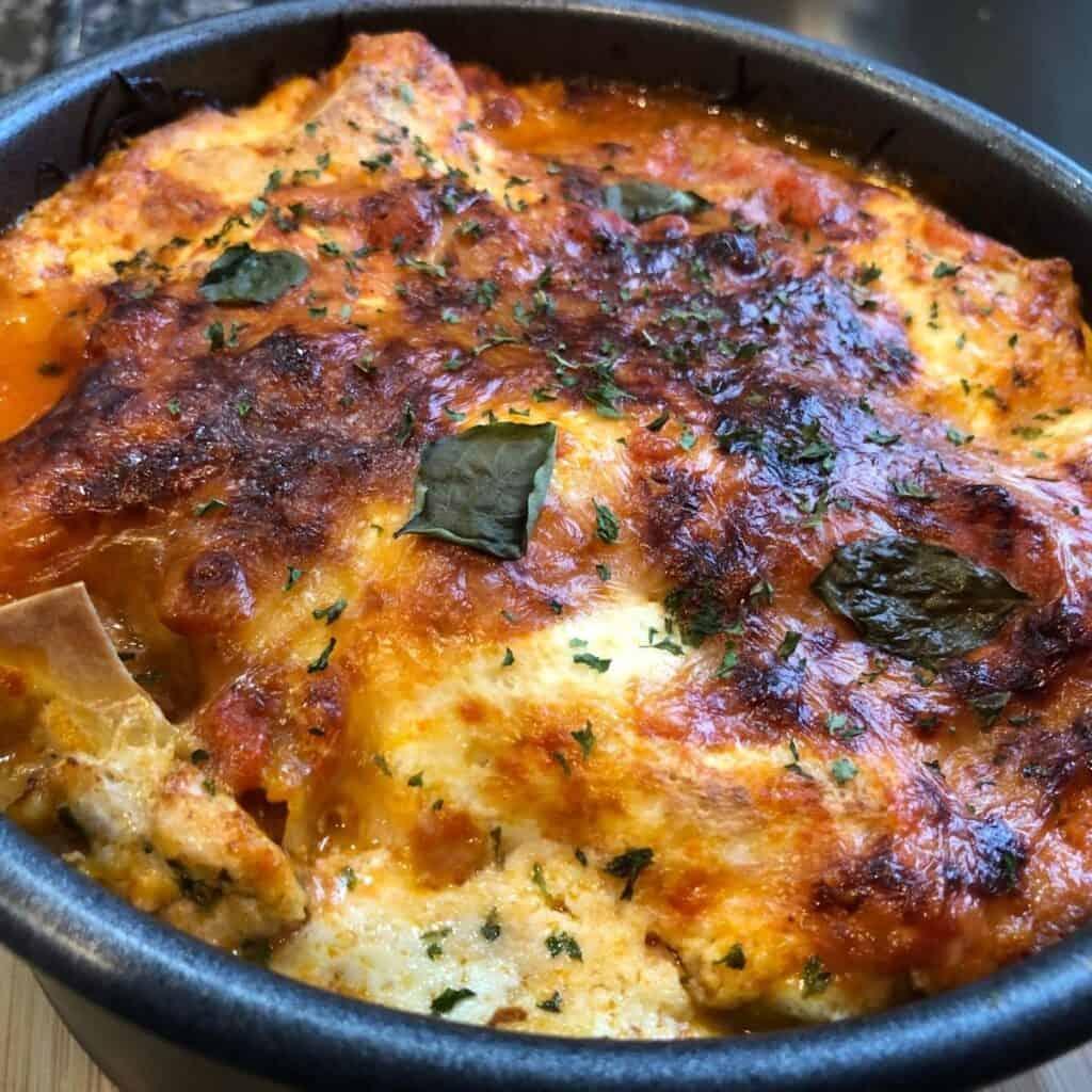Baked Instant Pot Lasagna